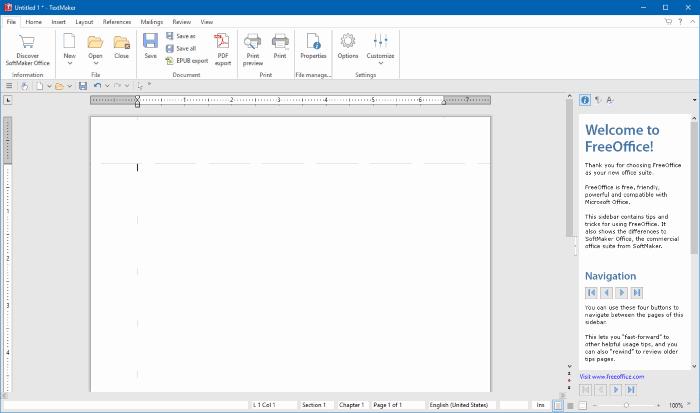 FreeOffice-traitement-texte-gratuit