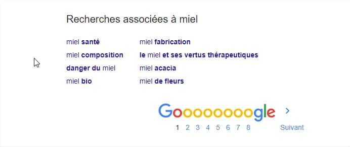 Google Recherche Associee