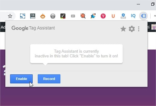Google-Tag-Assistant-Enable