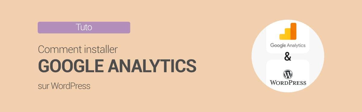 Comment installer Google Analytics