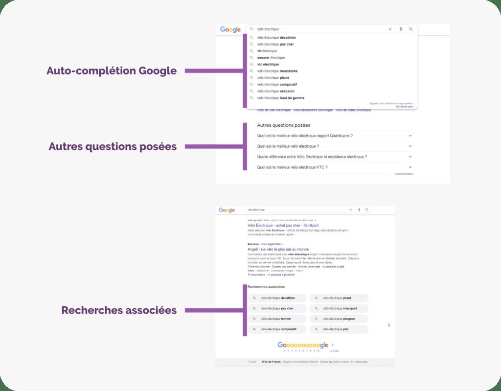 Extraire des données de Google