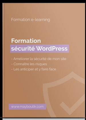 Formation Sécurité WordPress