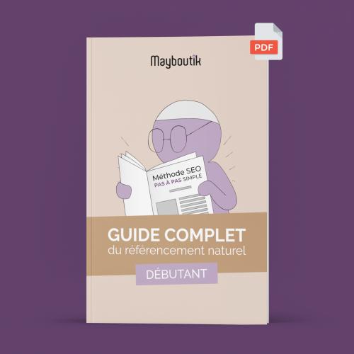 Guide complet SEO debutant violet